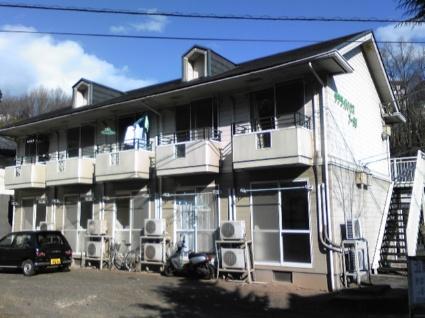 山梨県甲斐市の築23年 2階建の賃貸アパート