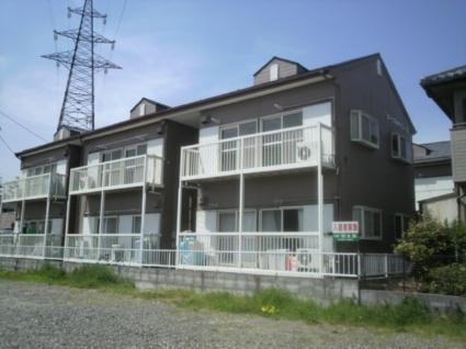 山梨県甲斐市の築20年 2階建の賃貸アパート