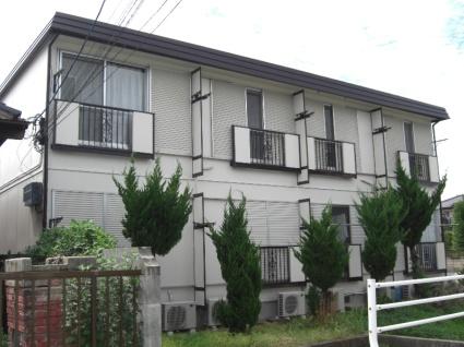 山梨県中央市の築32年 2階建の賃貸アパート