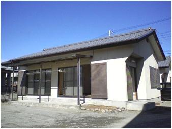 山梨県甲斐市の築30年 1階建の賃貸一戸建て