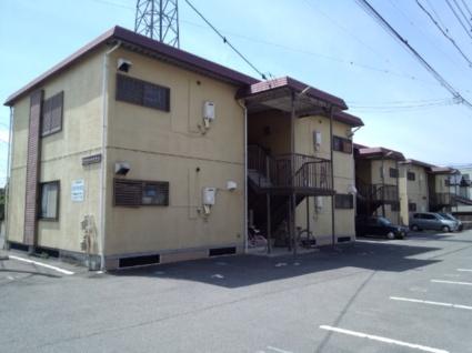 山梨県甲斐市の築29年 2階建の賃貸アパート