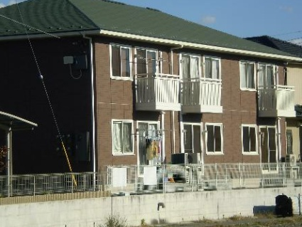 山梨県甲府市、国母駅徒歩19分の築10年 2階建の賃貸アパート