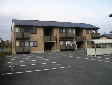 山梨県甲斐市、常永駅徒歩39分の築17年 2階建の賃貸アパート