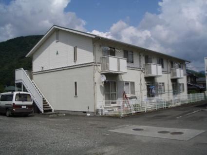 山梨県甲斐市、竜王駅徒歩40分の築23年 2階建の賃貸アパート
