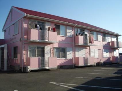 山梨県甲斐市の築25年 2階建の賃貸アパート