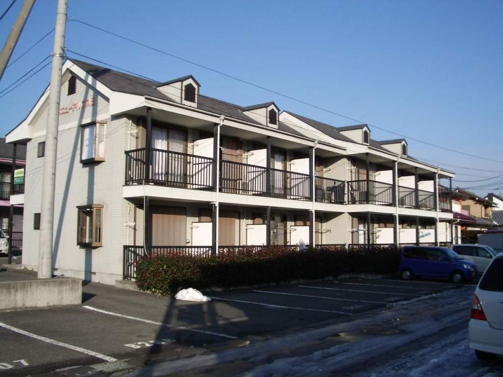 山梨県甲斐市、竜王駅徒歩10分の築21年 2階建の賃貸アパート
