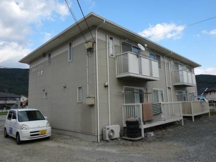 山梨県甲府市、甲府駅徒歩53分の築22年 2階建の賃貸アパート