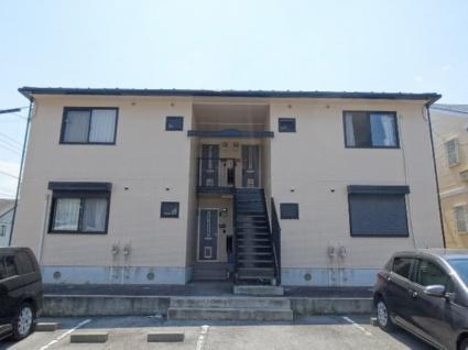 山梨県甲斐市、竜王駅徒歩30分の築21年 2階建の賃貸アパート