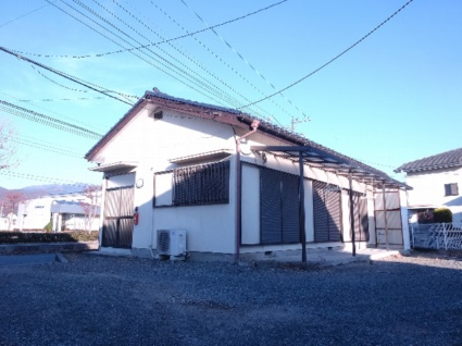 山梨県甲斐市の築22年 1階建の賃貸一戸建て