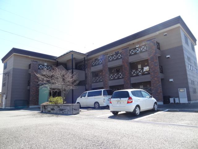 山梨県甲府市、善光寺駅徒歩10分の築19年 3階建の賃貸アパート