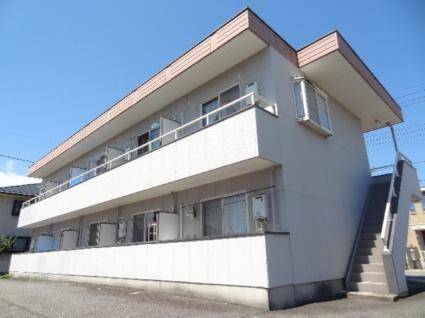 山梨県甲斐市、竜王駅徒歩3分の築20年 2階建の賃貸アパート