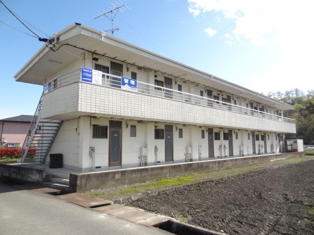 山梨県韮崎市、韮崎駅徒歩35分の築25年 2階建の賃貸アパート