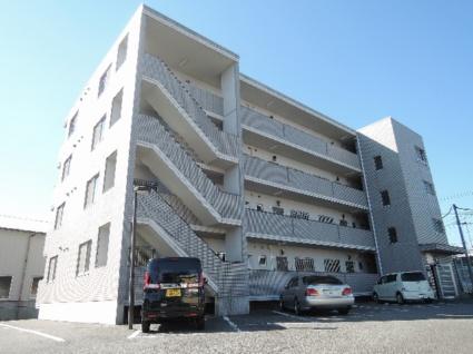 山梨県甲府市、国母駅徒歩12分の築21年 4階建の賃貸マンション