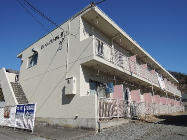 山梨県甲府市、酒折駅徒歩10分の築31年 2階建の賃貸マンション