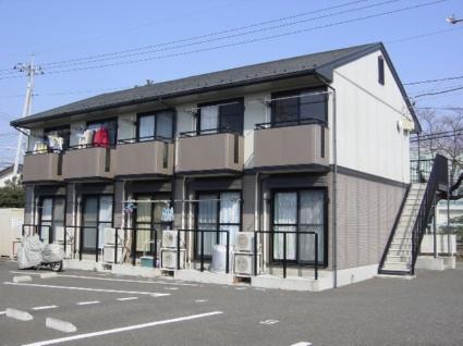 山梨県韮崎市の築18年 2階建の賃貸アパート
