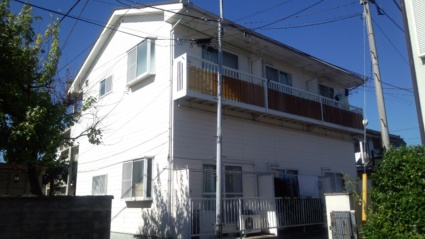 山梨県甲府市、甲府駅徒歩15分の築20年 2階建の賃貸アパート