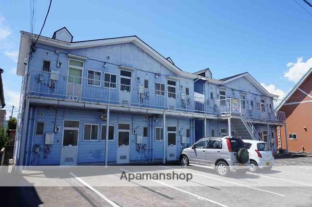 山梨県南アルプス市、甲斐上野駅徒歩60分の築25年 2階建の賃貸アパート
