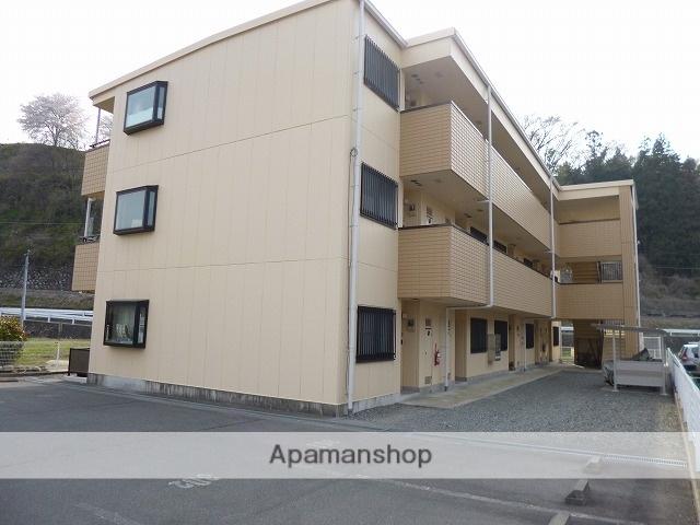 長野県伊那市、下島駅徒歩5分の築18年 3階建の賃貸アパート