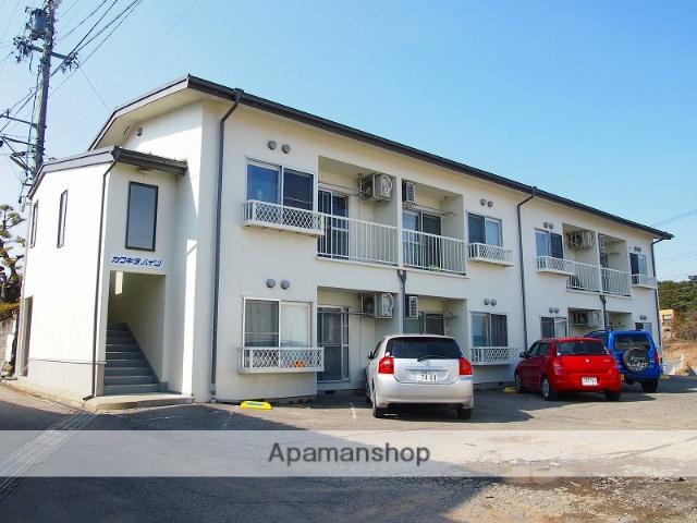 長野県伊那市の築42年 2階建の賃貸アパート