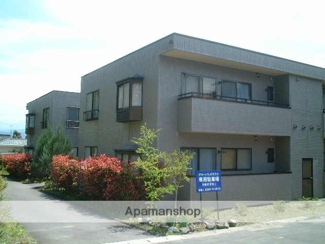 長野県伊那市、伊那市駅徒歩26分の築22年 2階建の賃貸アパート