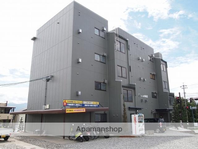 長野県伊那市、伊那市駅徒歩20分の築32年 4階建の賃貸アパート