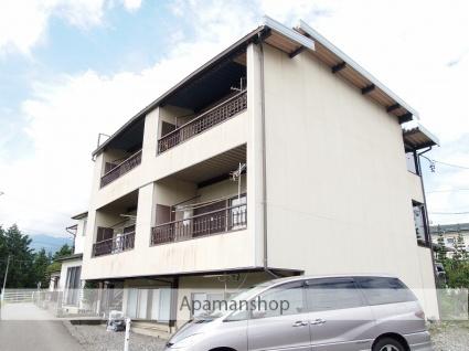 長野県伊那市、伊那市駅徒歩20分の築42年 3階建の賃貸アパート