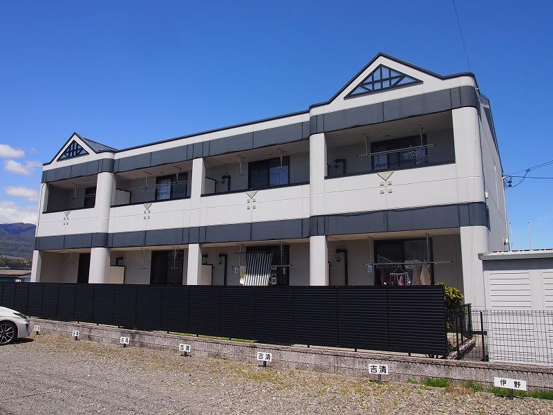 長野県飯田市、伊那八幡駅徒歩20分の築10年 2階建の賃貸アパート