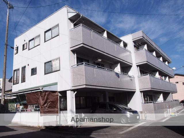 長野県飯田市、飯田駅徒歩18分の築27年 3階建の賃貸マンション