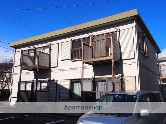長野県飯田市、伊那八幡駅徒歩8分の築23年 2階建の賃貸アパート