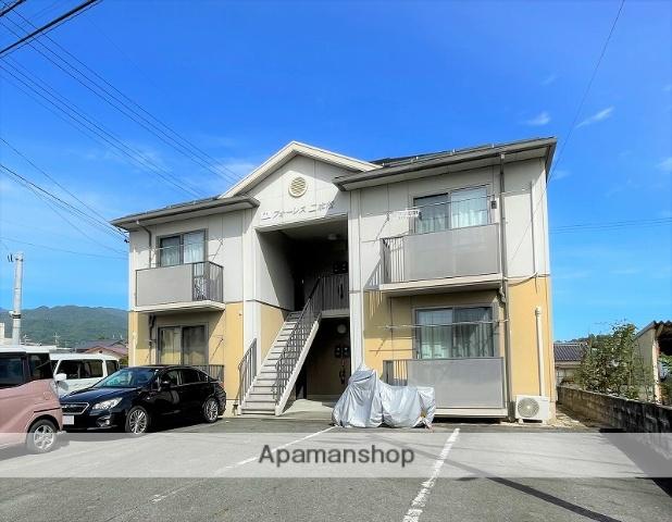 長野県飯田市、飯田駅徒歩17分の築13年 2階建の賃貸アパート