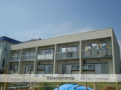 長野県飯田市、伊那上郷駅徒歩13分の築32年 2階建の賃貸アパート