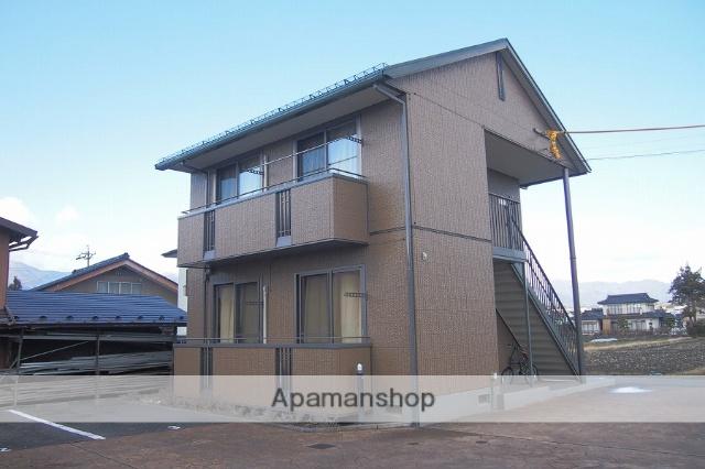 長野県伊那市、伊那市駅徒歩16分の築13年 2階建の賃貸アパート