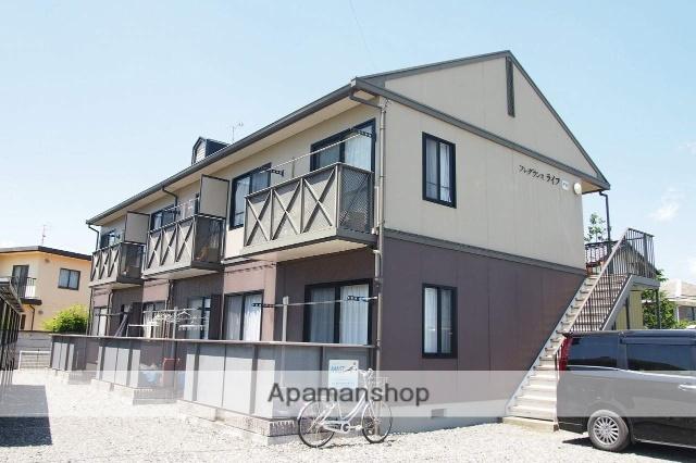 長野県伊那市の築17年 2階建の賃貸アパート