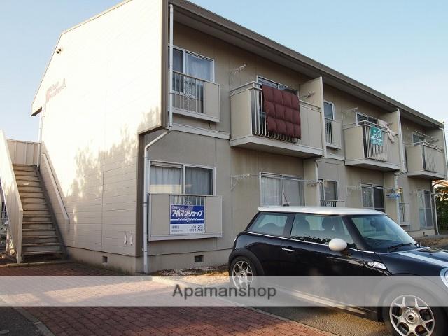 長野県伊那市、伊那北駅徒歩60分の築26年 2階建の賃貸アパート