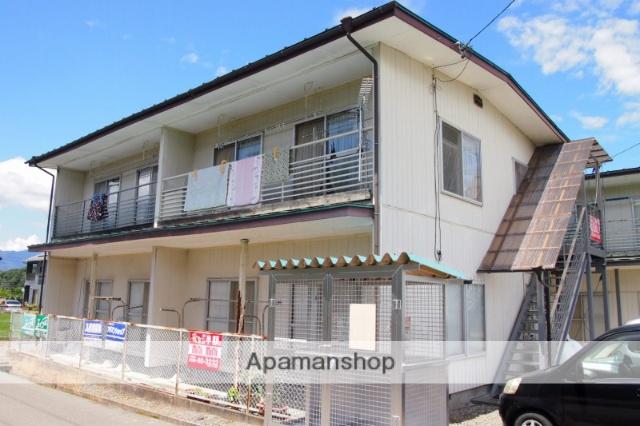 長野県伊那市、伊那市駅徒歩45分の築36年 2階建の賃貸アパート