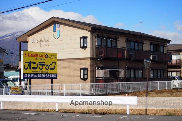 長野県伊那市、伊那市駅徒歩20分の築21年 2階建の賃貸アパート