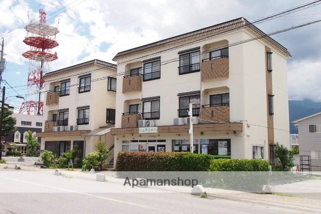 長野県伊那市の築25年 3階建の賃貸アパート