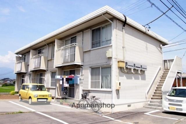 長野県伊那市、伊那北駅徒歩40分の築27年 2階建の賃貸アパート