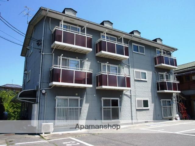 長野県飯田市、切石駅徒歩35分の築20年 3階建の賃貸アパート