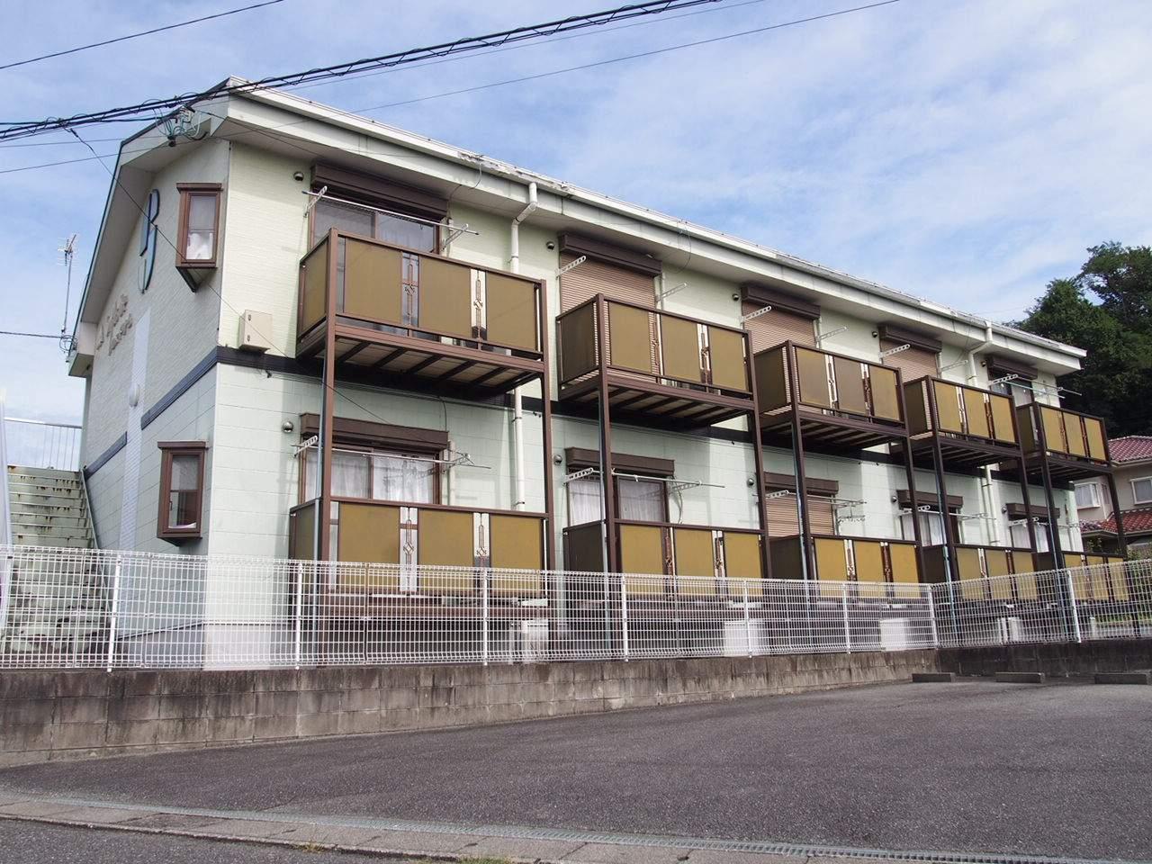 長野県飯田市、伊那上郷駅徒歩3分の築20年 2階建の賃貸アパート