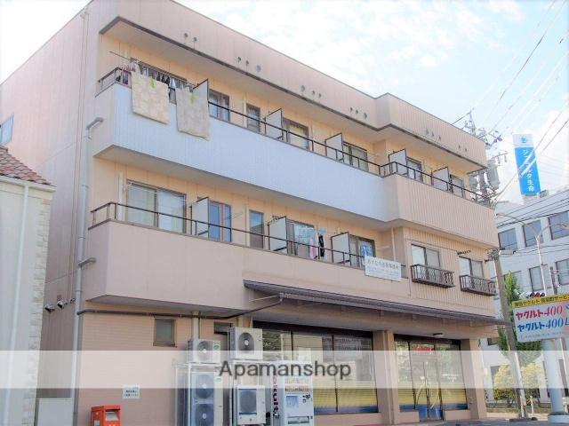 長野県飯田市、飯田駅徒歩6分の築17年 3階建の賃貸アパート