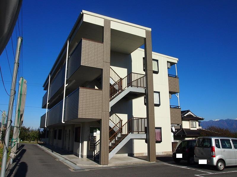 長野県飯田市、切石駅徒歩40分の築16年 3階建の賃貸マンション
