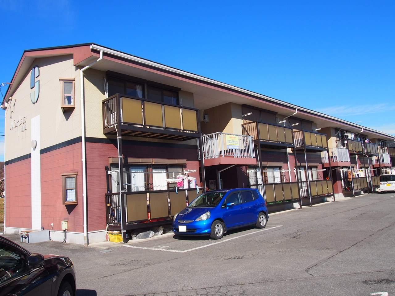 長野県飯田市、鼎駅徒歩49分の築19年 2階建の賃貸アパート