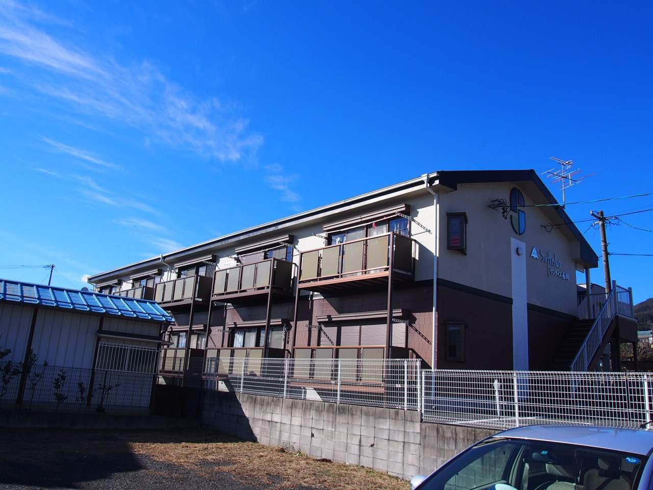 長野県飯田市、切石駅徒歩20分の築20年 2階建の賃貸アパート