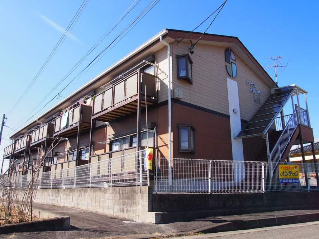 長野県飯田市、飯田駅徒歩30分の築20年 2階建の賃貸アパート