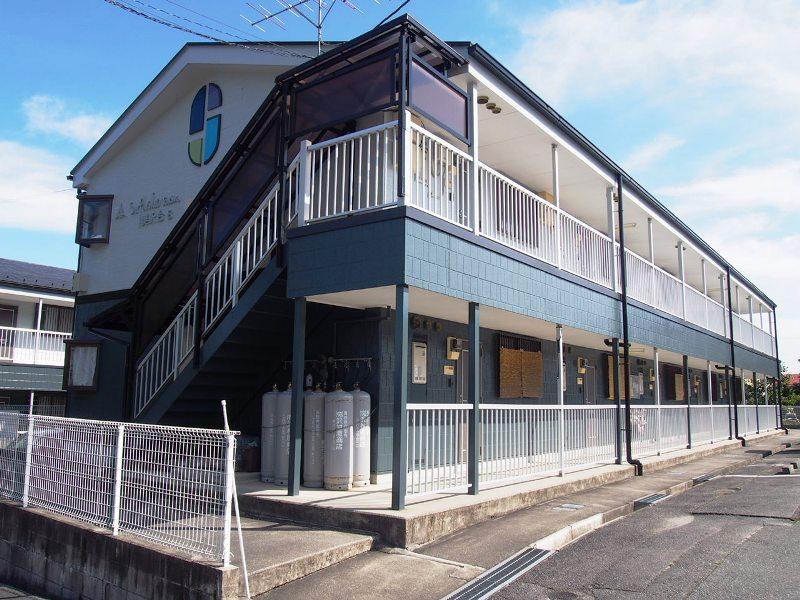 長野県飯田市の築21年 2階建の賃貸アパート