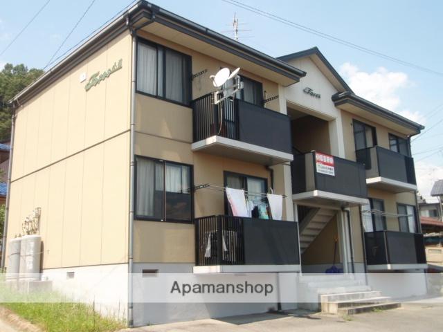 長野県飯田市、伊那上郷駅徒歩20分の築17年 2階建の賃貸アパート