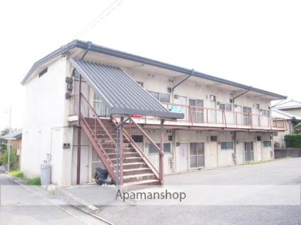 長野県飯田市、切石駅徒歩20分の築44年 2階建の賃貸アパート