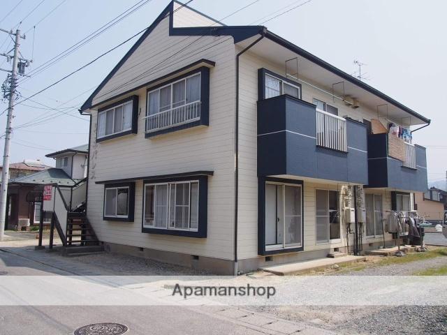 長野県飯田市、毛賀駅徒歩10分の築26年 2階建の賃貸アパート