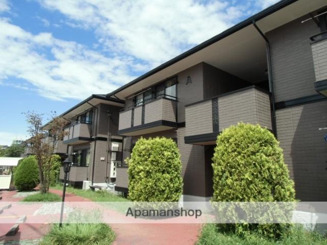 長野県諏訪市、上諏訪駅徒歩20分の築17年 2階建の賃貸アパート